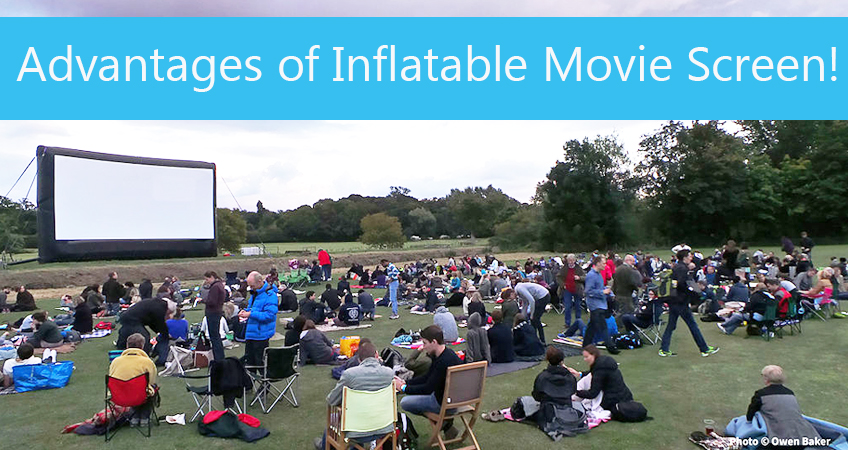 What are the Advantages of Inflatable Movie Screen Technology?