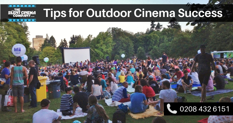 Top Tips for Outdoor Cinema Success